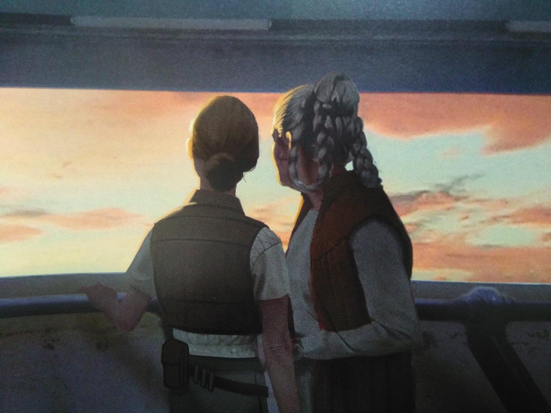 スターウォーズ9は本当にレイア姫中心で考えていたのかもしれん。