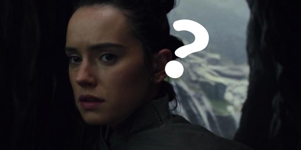 【最後のジェダイ】なぜルークはレイの名前を知っていた?