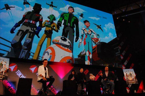 【東京コミコン2108】スターウォーズレジスタンストークイベントを写真付きでレポート!!!!